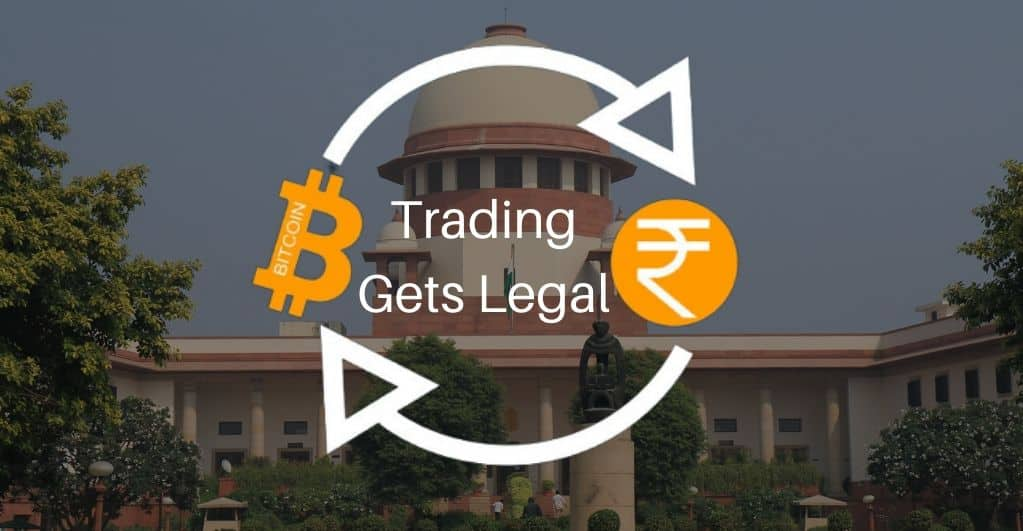 Supreme Court of India lifts Ban on Crypto